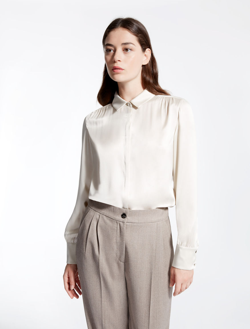 Camicia in raso di seta Weekend Maxmara