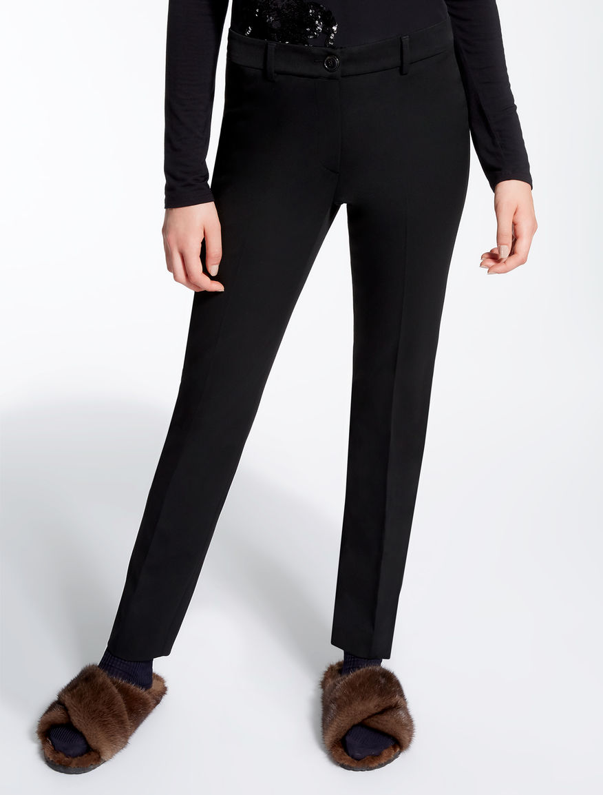 Pantaloni in gabardina stretch Weekend Maxmara