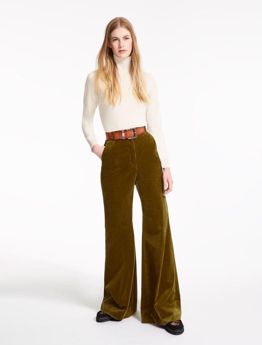 Velvet trousers Weekend Maxmara