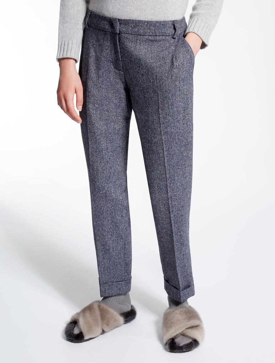 Pantaloni in misto lana Weekend Maxmara