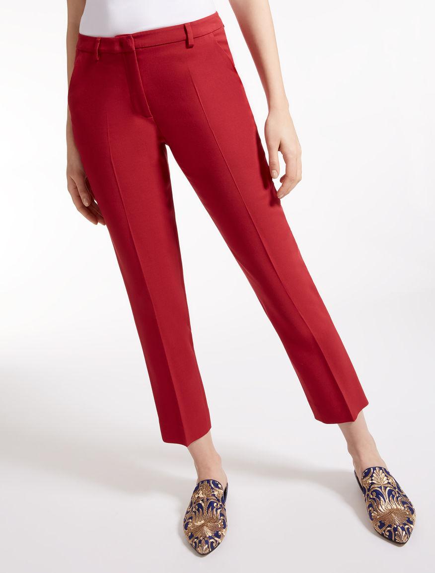 Pantaloni in viscosa e lana Weekend Maxmara