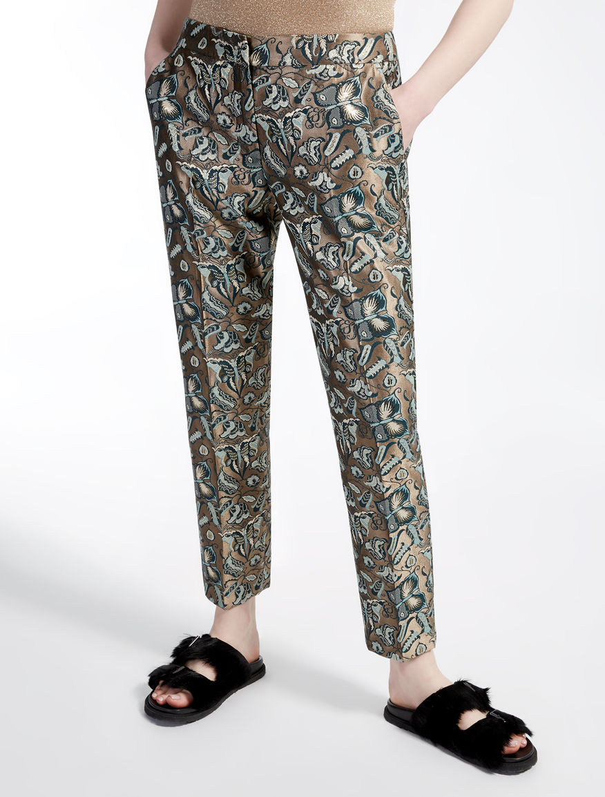 Pantaloni jacquard Weekend Maxmara