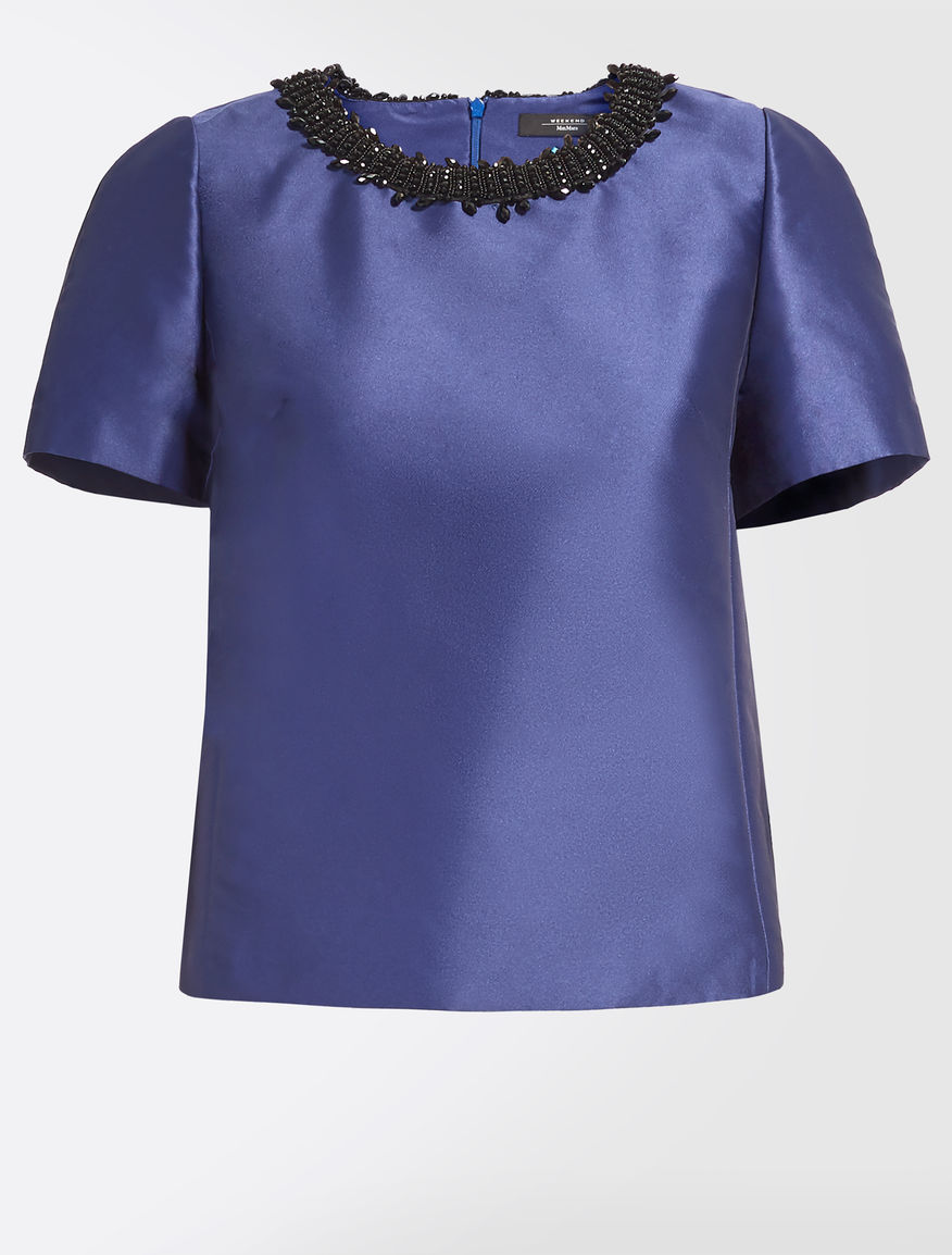 Shiny fabric top Weekend Maxmara