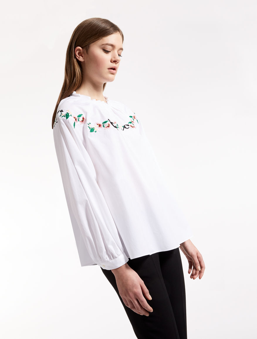 Chatmise - Cotton blouse Weekend Maxmara