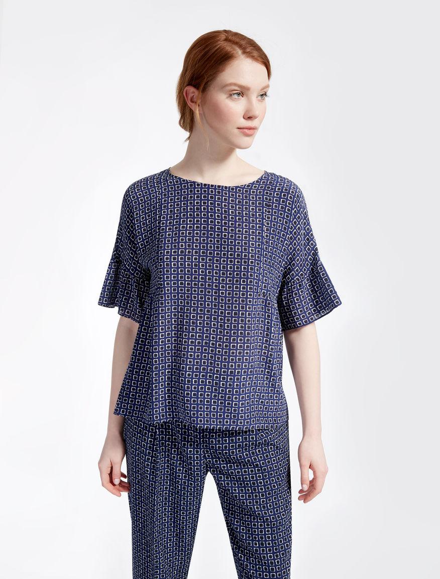 Silk crêpe de chine blouse Weekend Maxmara