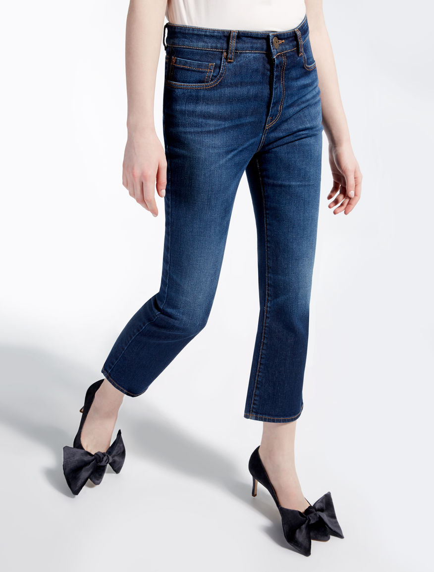 Cropped flared jeans Weekend Maxmara