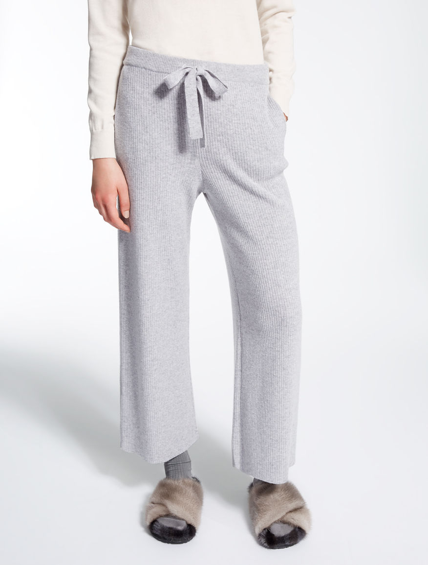 Viscose, wool and cashmere trousers Weekend Maxmara