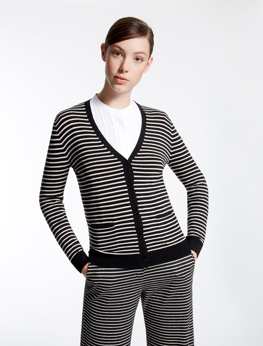 Silk and wool cardigan Weekend Maxmara
