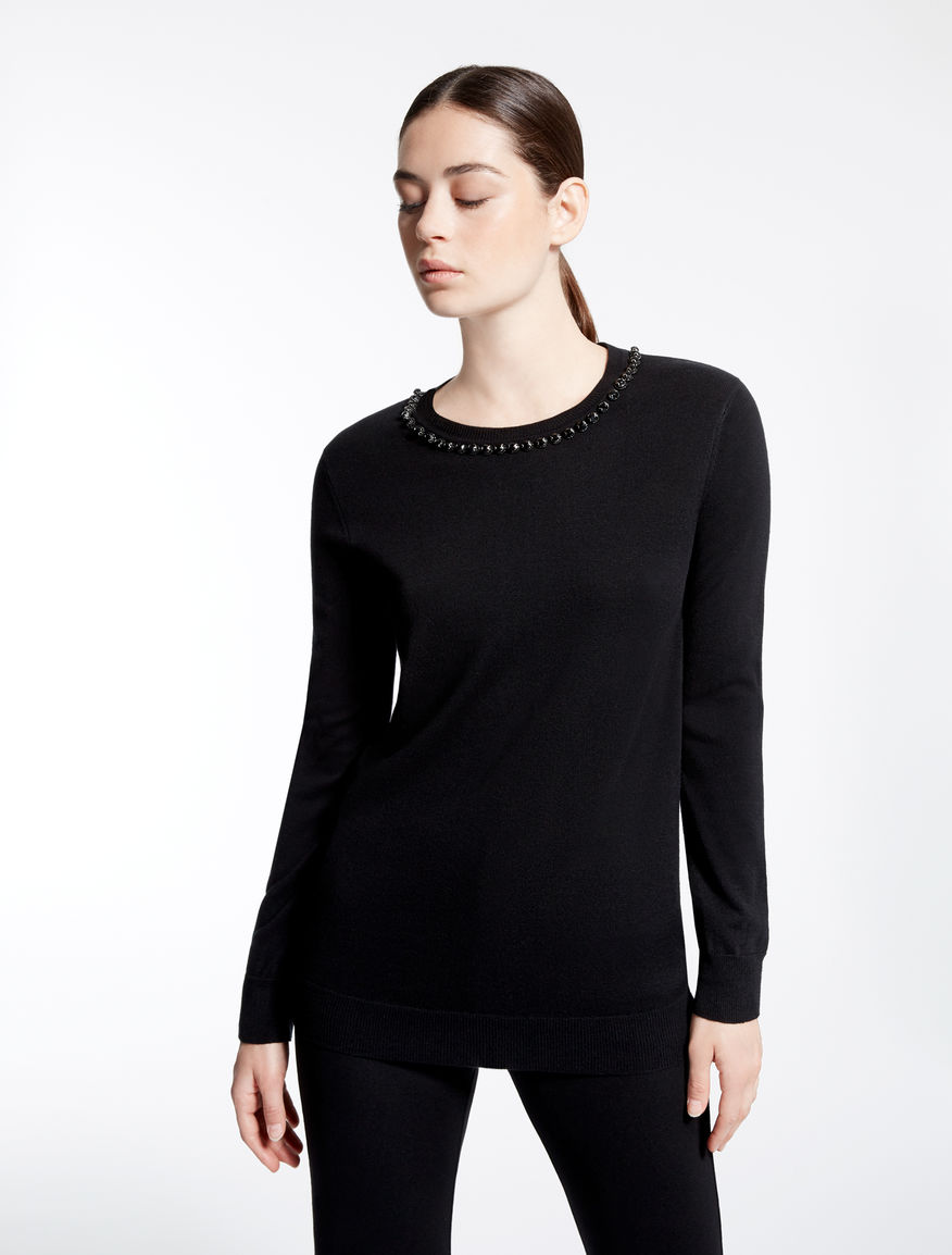 Silk and wool sweater Weekend Maxmara