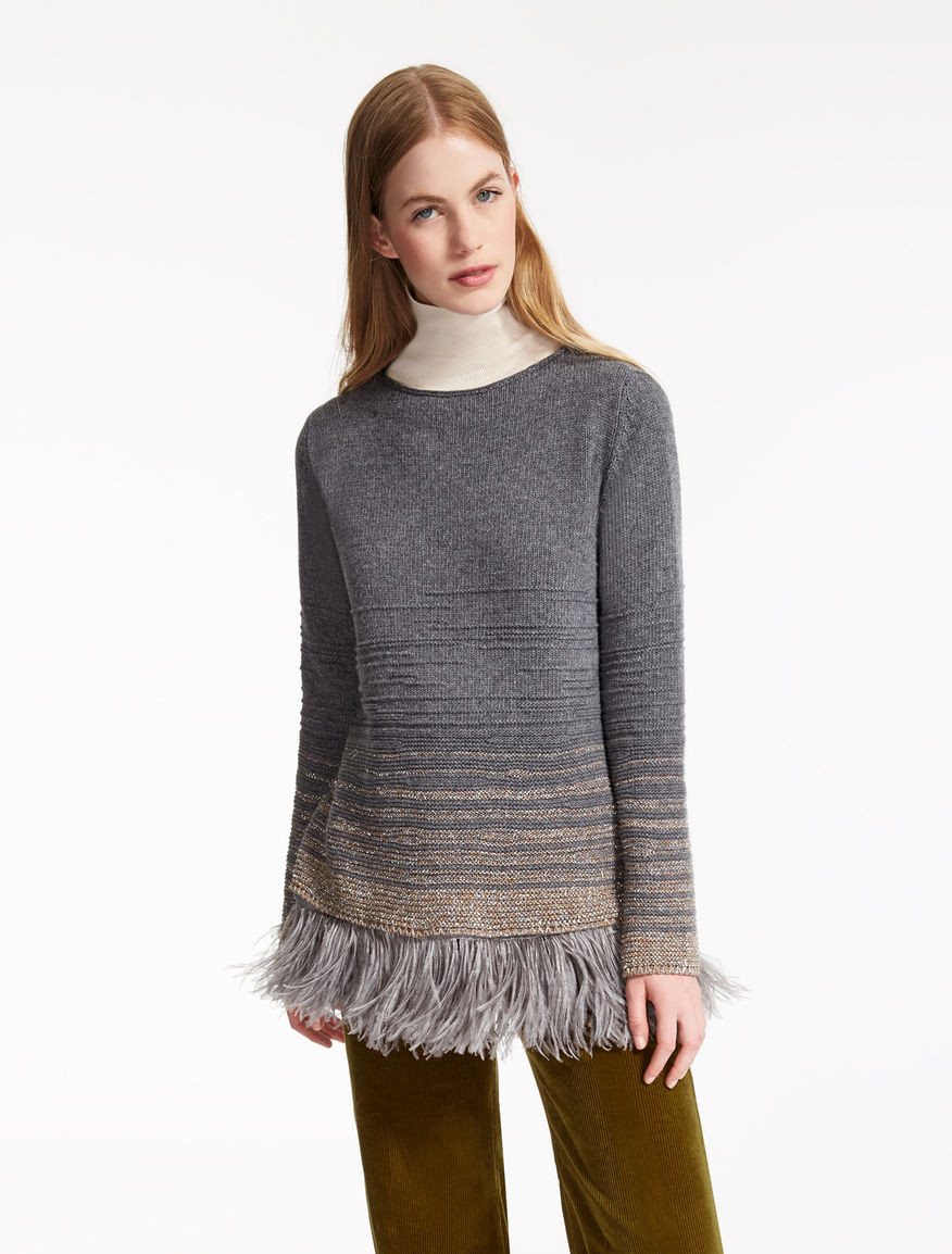 Wool and feather sweater Weekend Maxmara