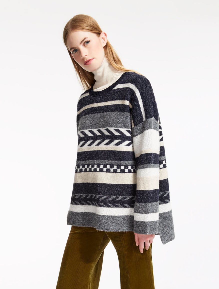 Wool and alpaca sweater Weekend Maxmara