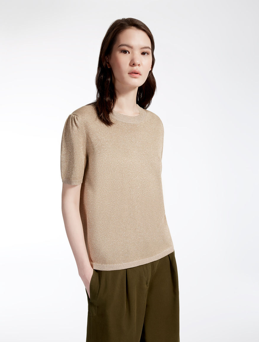 Viscose and lurex yarn sweater Weekend Maxmara