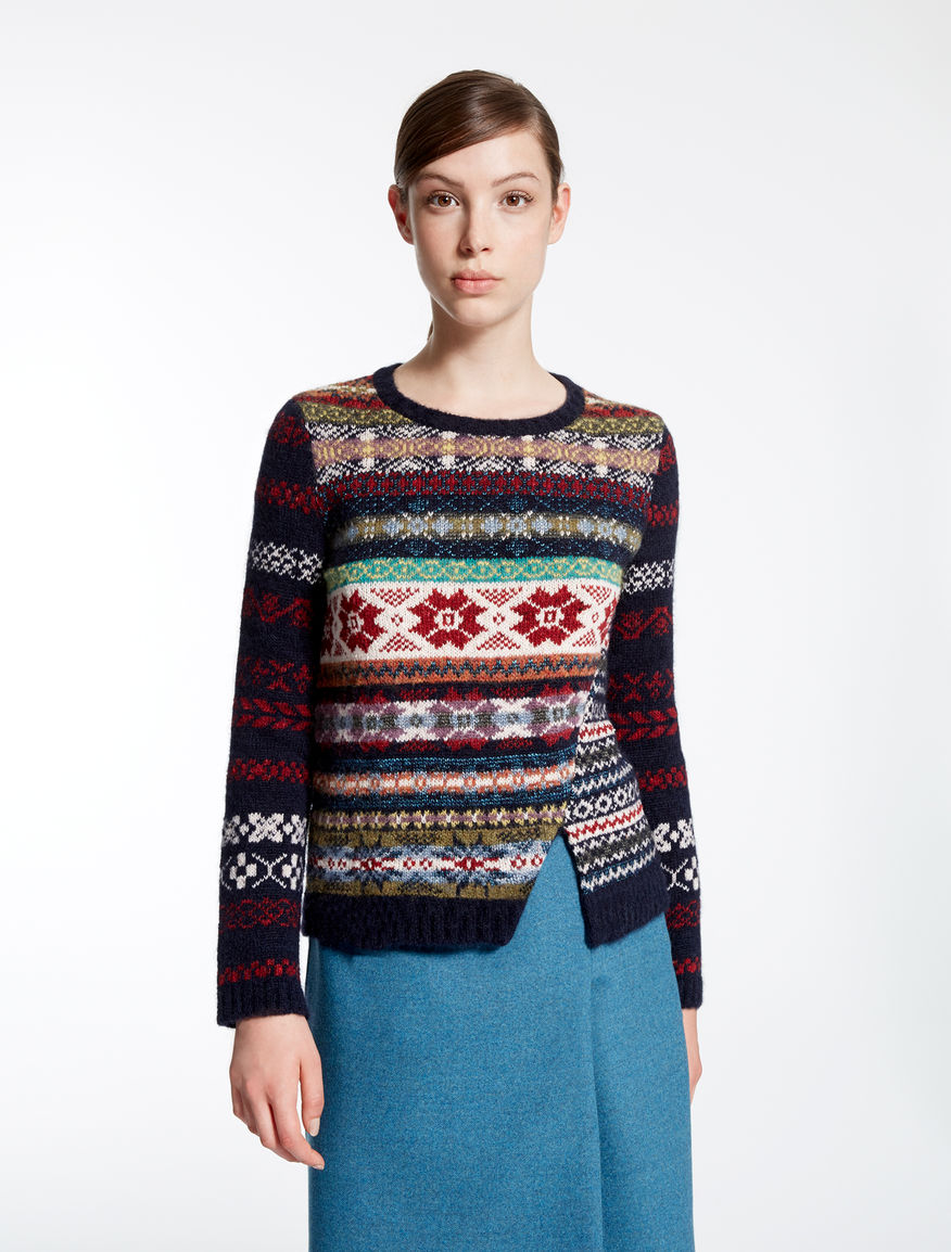 Jacquard wool sweater Weekend Maxmara