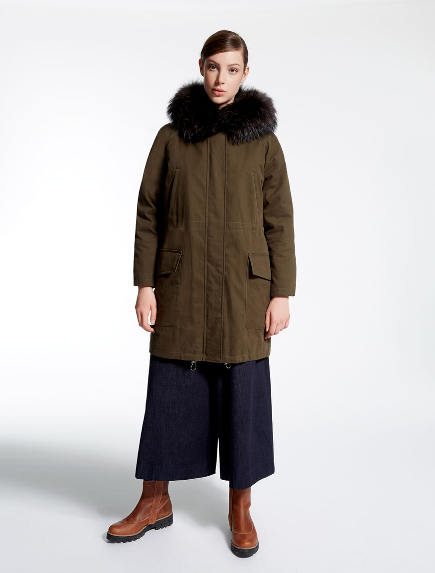 Parka in tela di cotone Weekend Maxmara