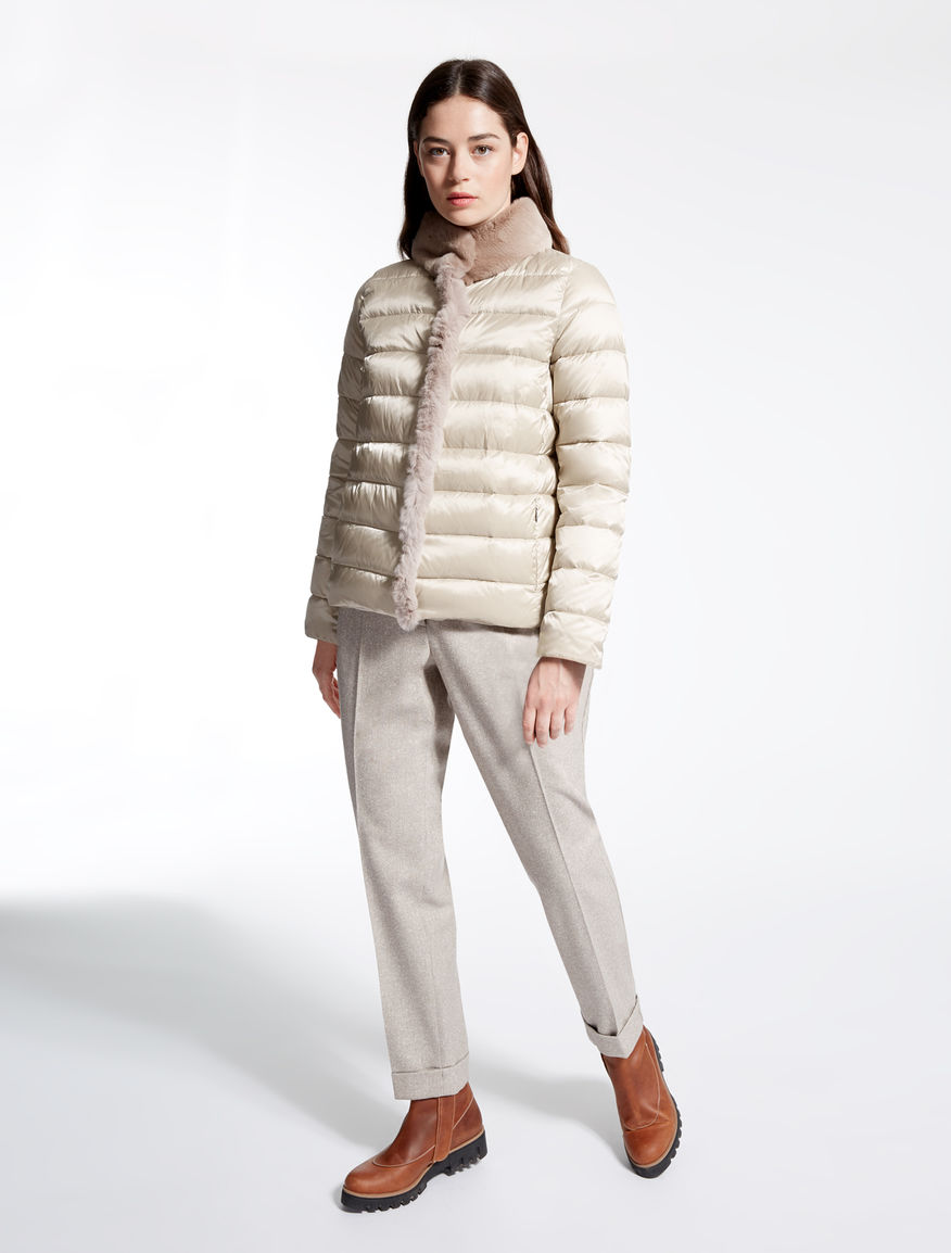Drop-proof satin down jacket Weekend Maxmara