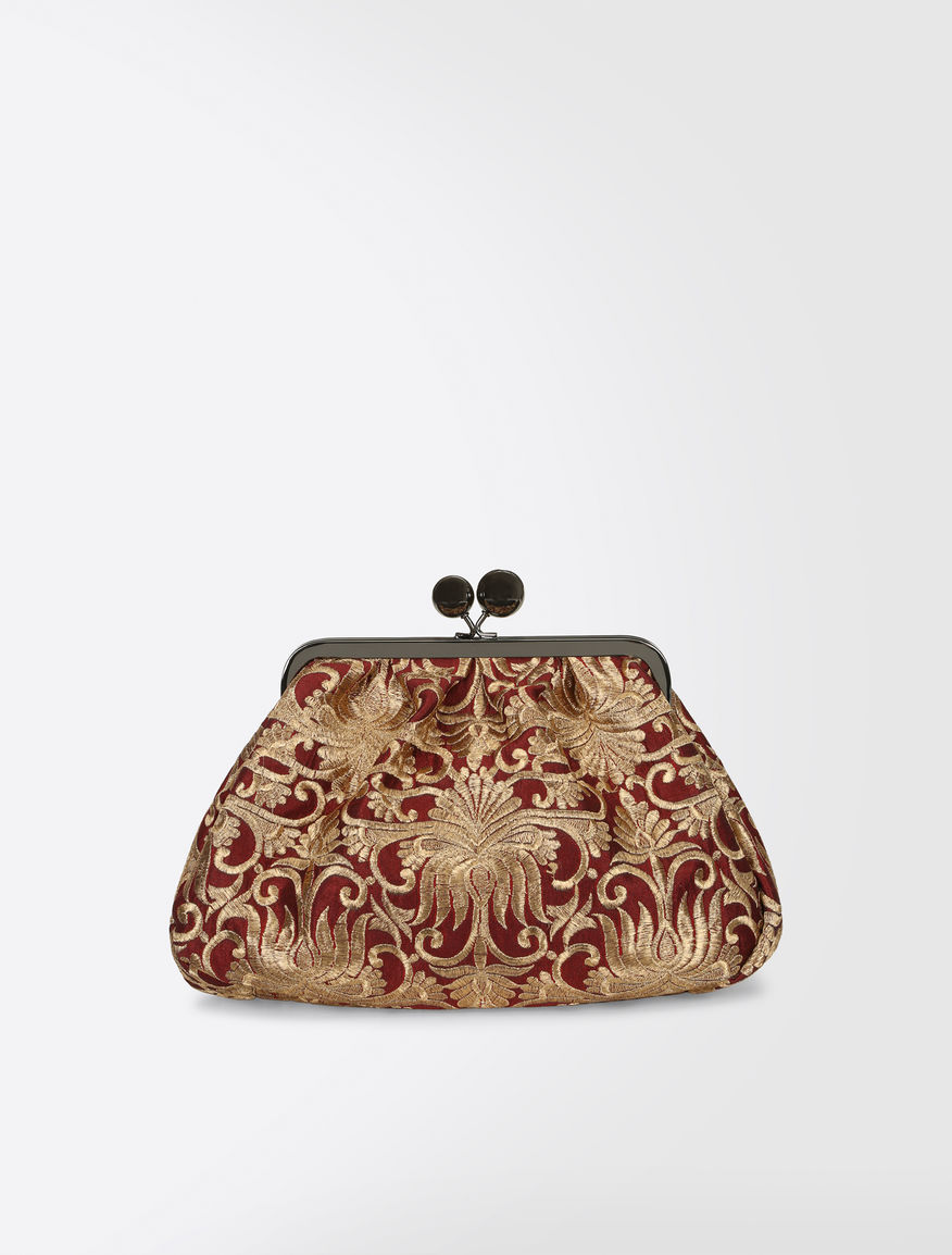 Medium Pasticcino bag in brocade Weekend Maxmara