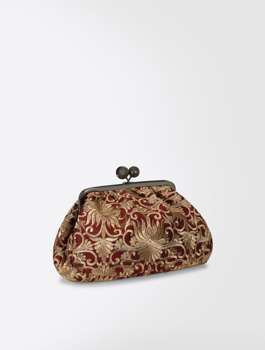 Pasticcino Bag Medium in tessuto broccato Weekend Maxmara