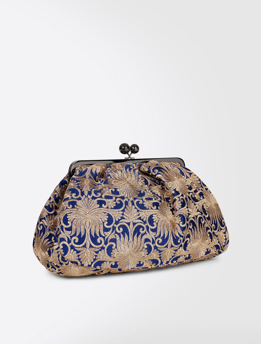 Maxi Pasticcino bag in brocade fabric Weekend Maxmara