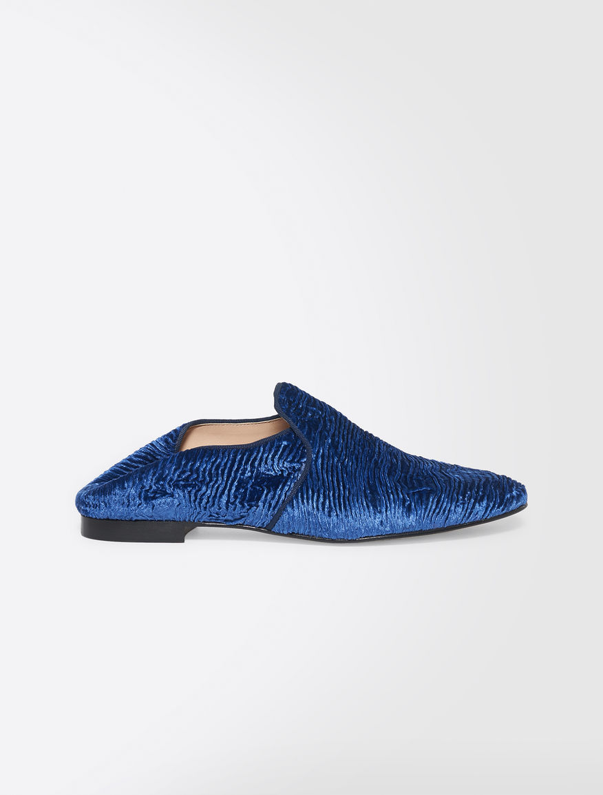 Velvet slippers Weekend Maxmara