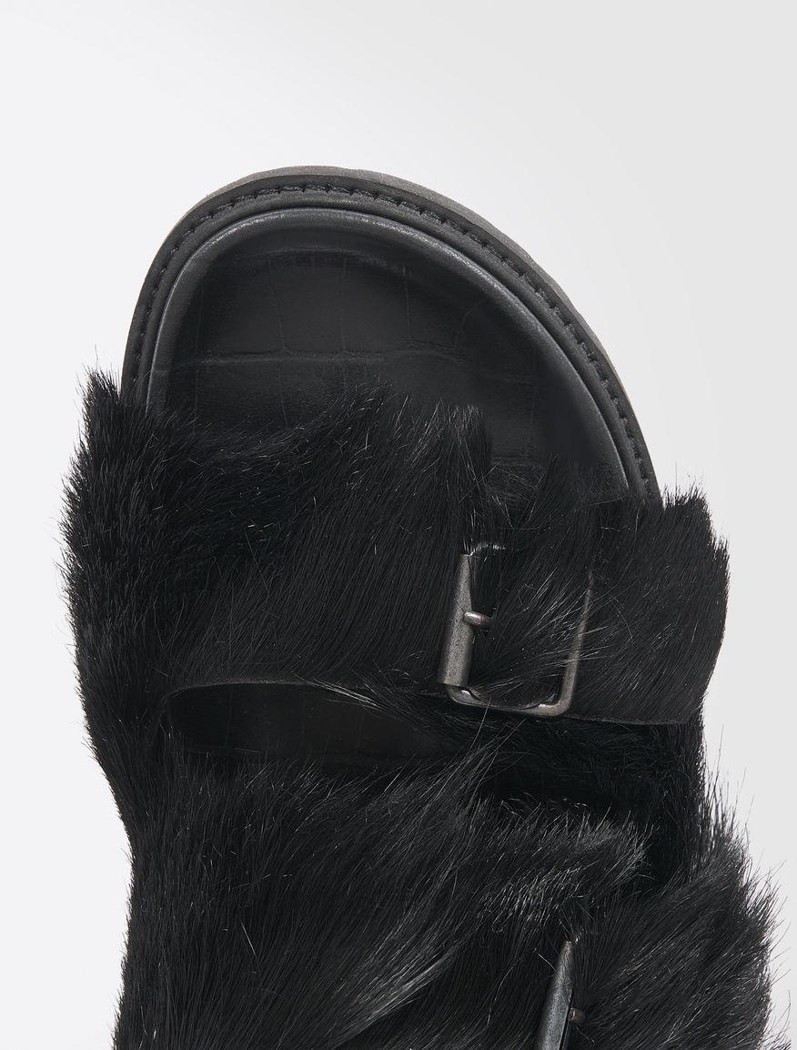 Fur slip-ons Weekend Maxmara