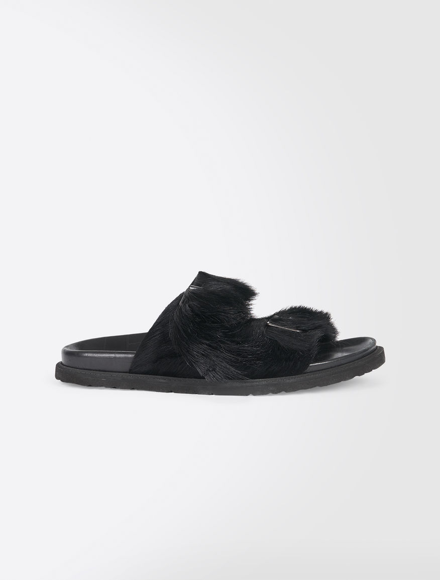 Slip on in pelliccia Weekend Maxmara