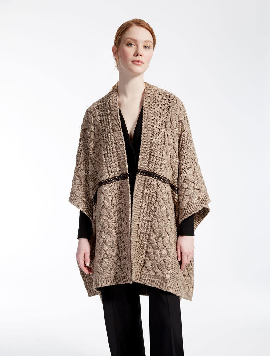 Wool blend poncho Weekend Maxmara