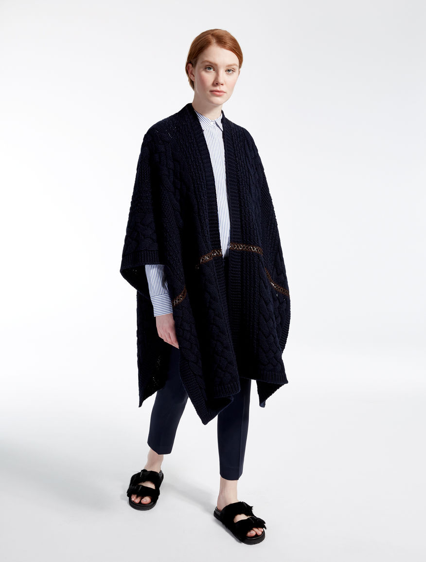 Poncho in misto lana Weekend Maxmara