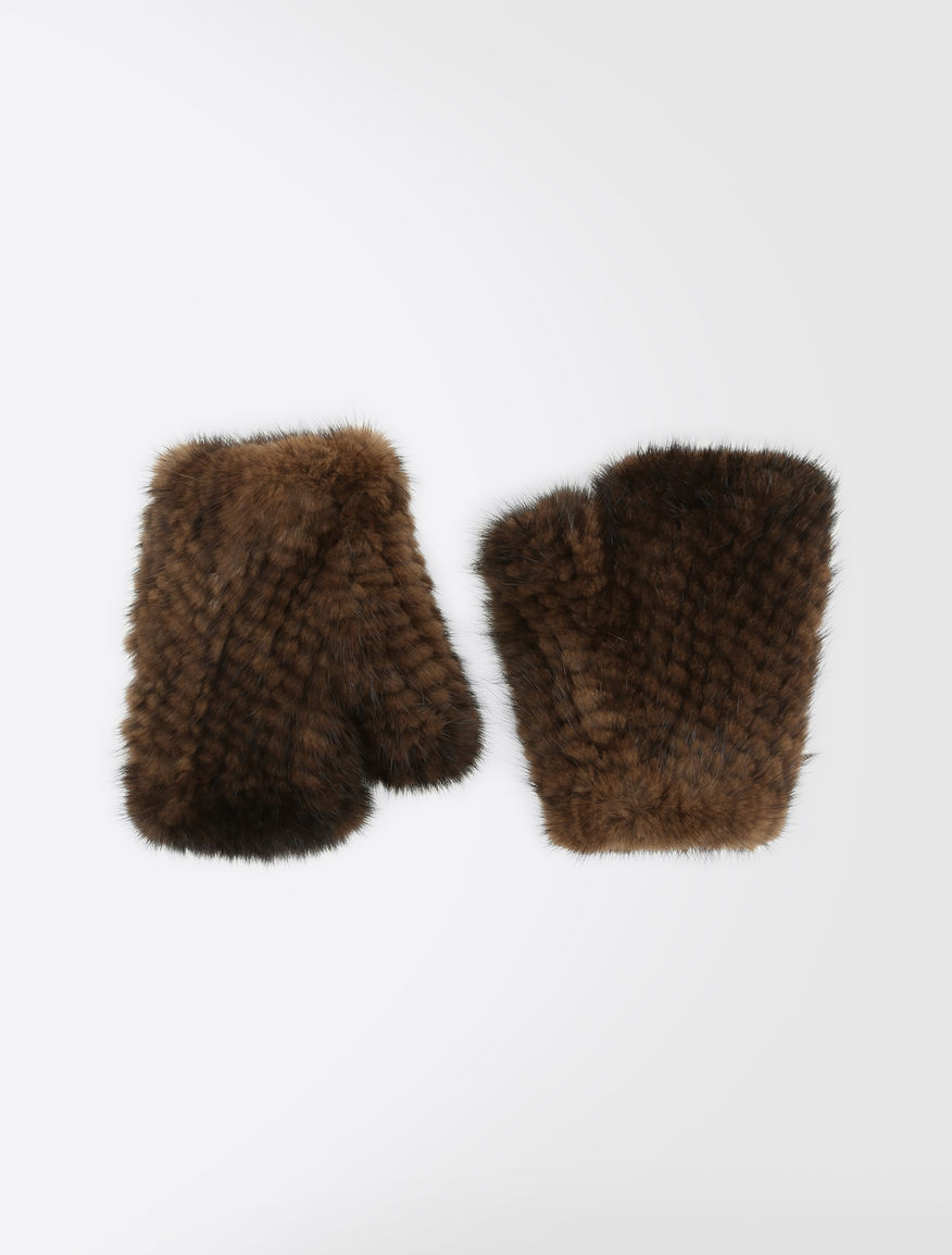 Fingerless mink gloves Weekend Maxmara