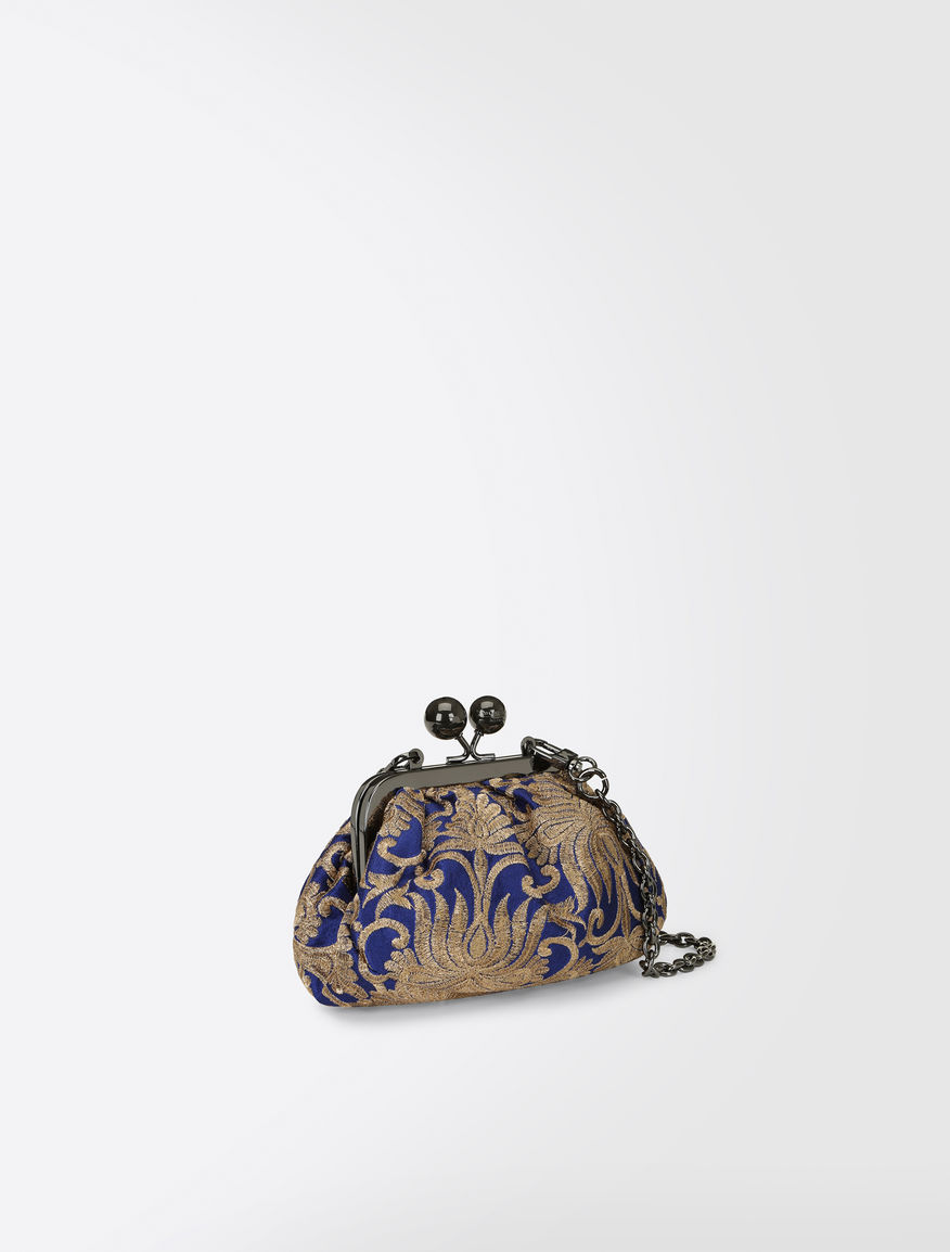 Nano Pasticcino bag in brocade fabric Weekend Maxmara