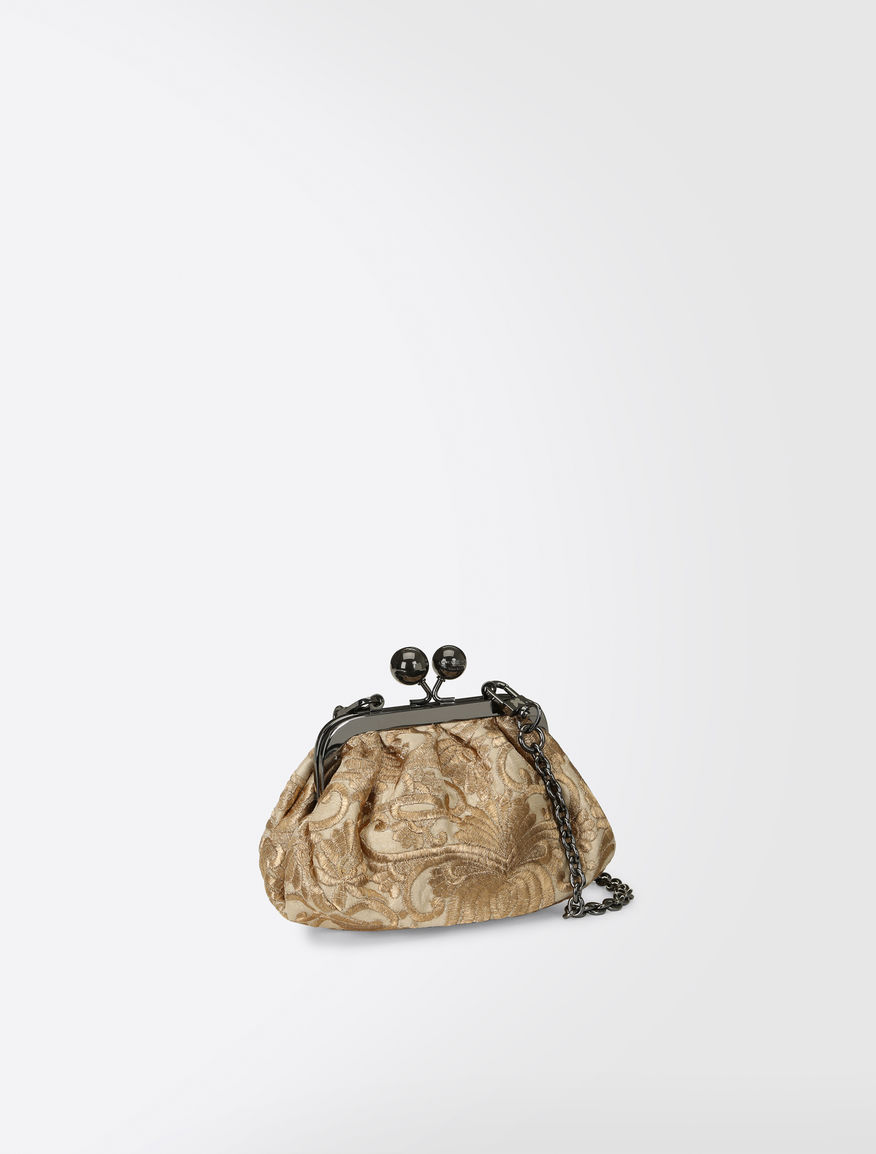 Pasticcino Bag Nano in tessuto broccato Weekend Maxmara