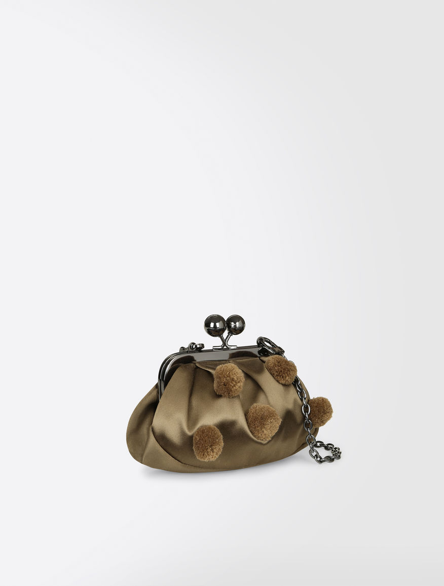 Nano Pasticcino bag in satin Weekend Maxmara