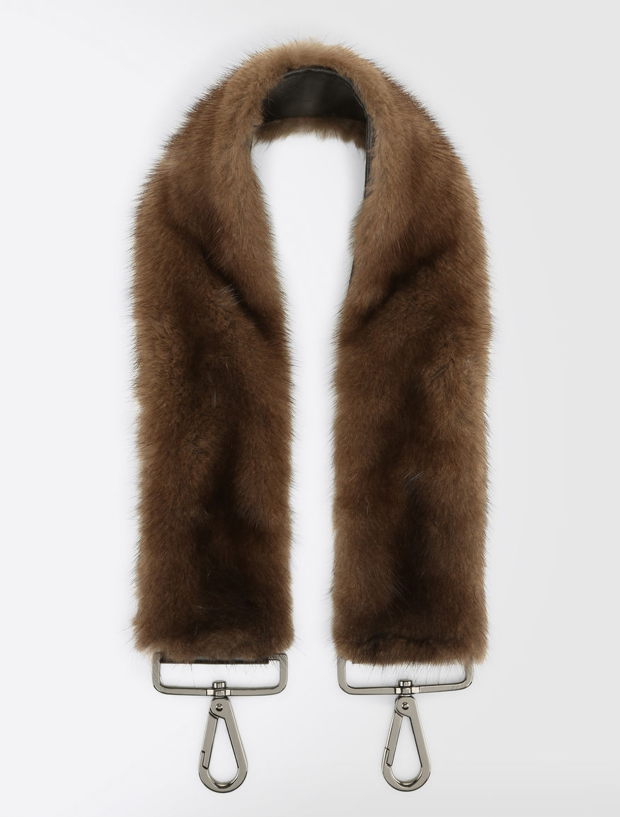 Mink shoulder strap Weekend Maxmara