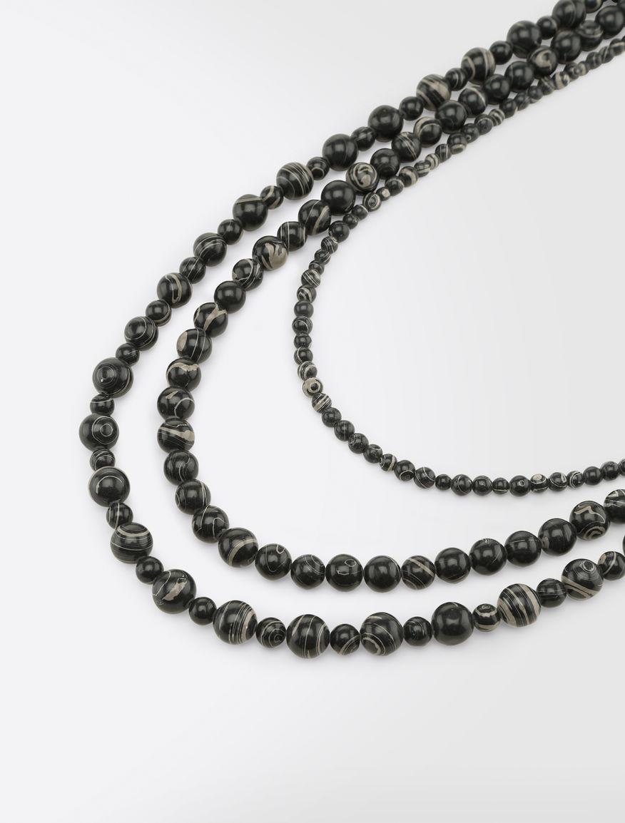 Set of three resin necklaces Weekend Maxmara