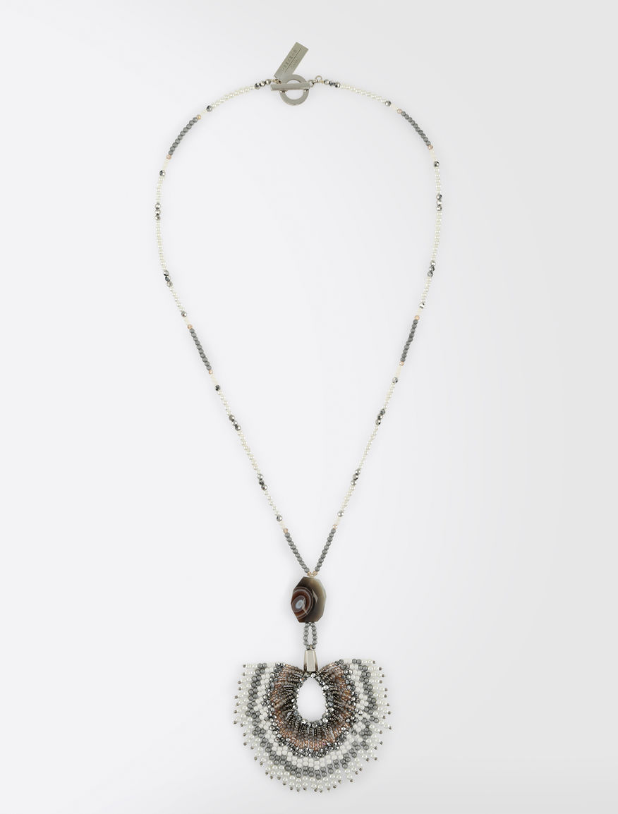 Beaded necklace with charm Weekend Maxmara