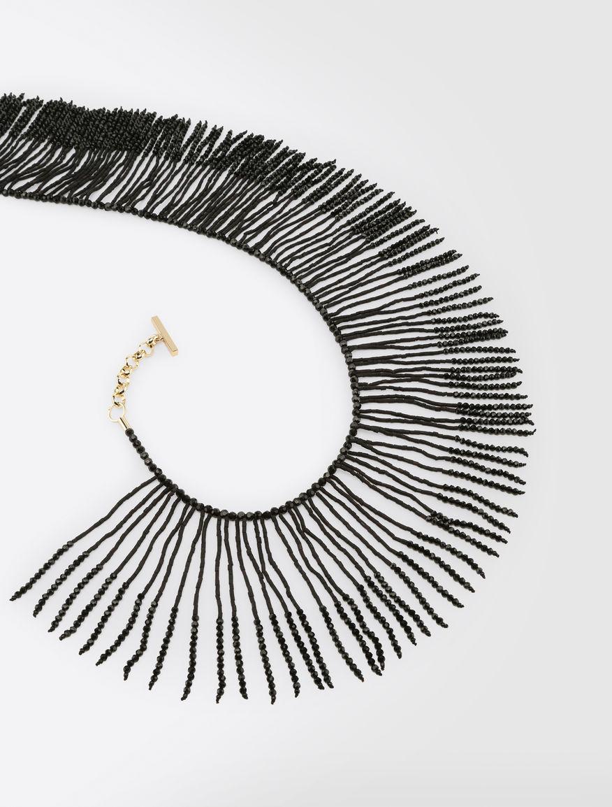 Necklace with rhinestone fringe Weekend Maxmara