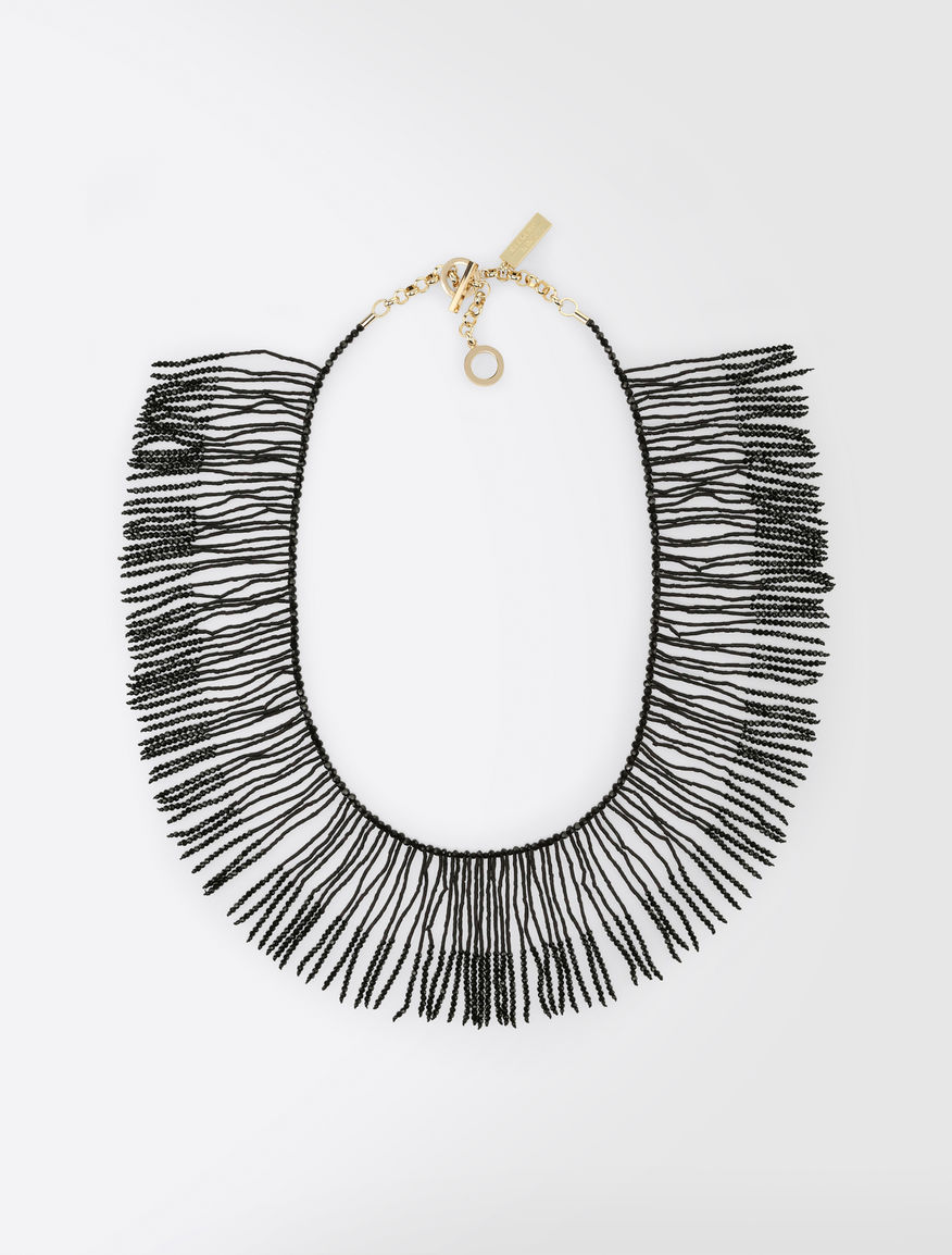 Necklace with rhinestone fringe Weekend Maxmara