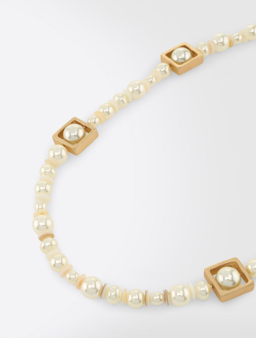 Necklace with pearls Weekend Maxmara