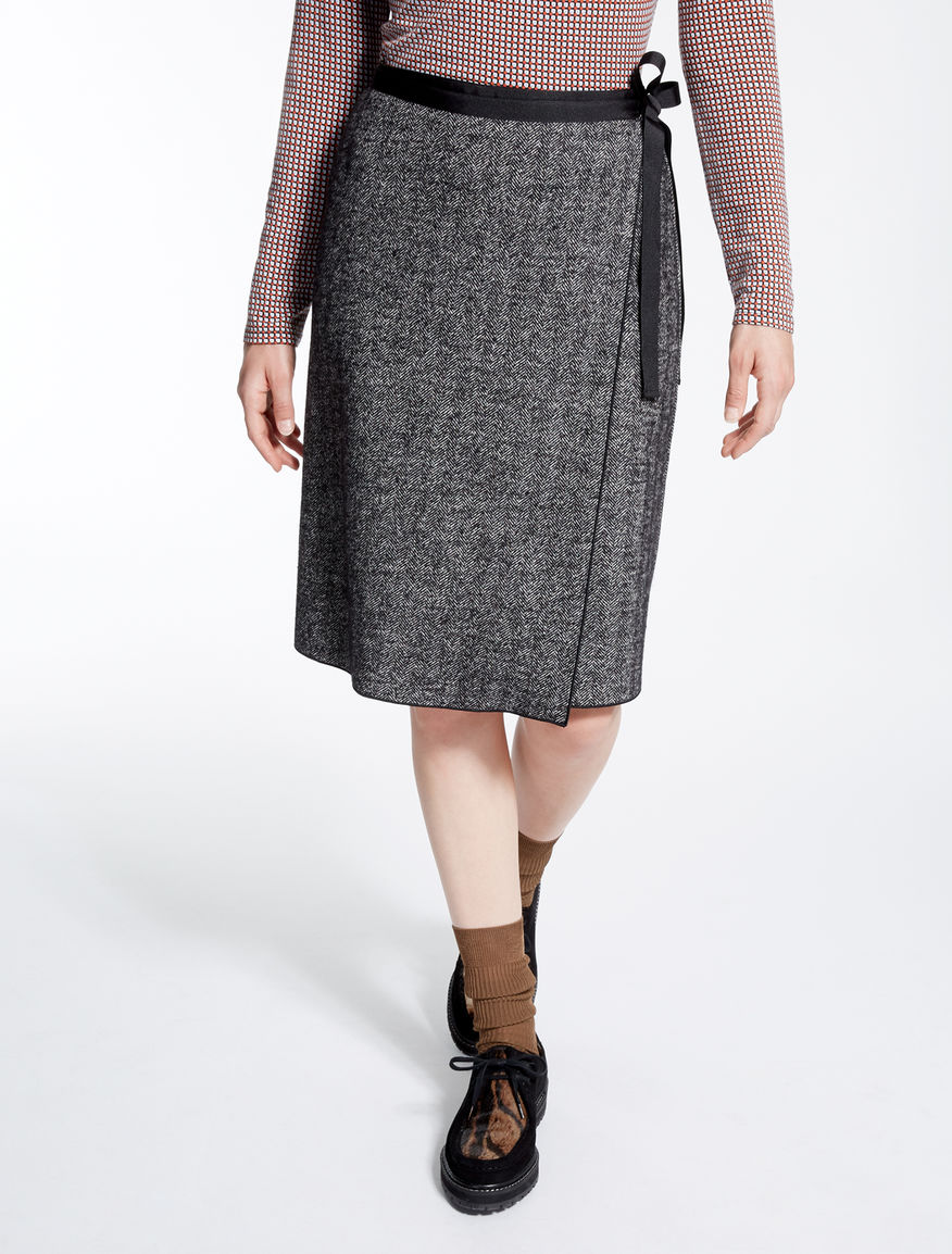 Chevron jersey skirt Weekend Maxmara