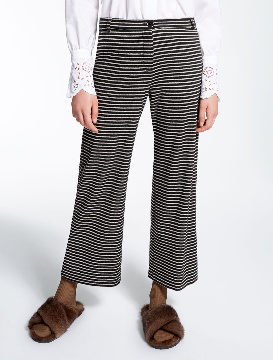 Jacquard jersey trousers Weekend Maxmara