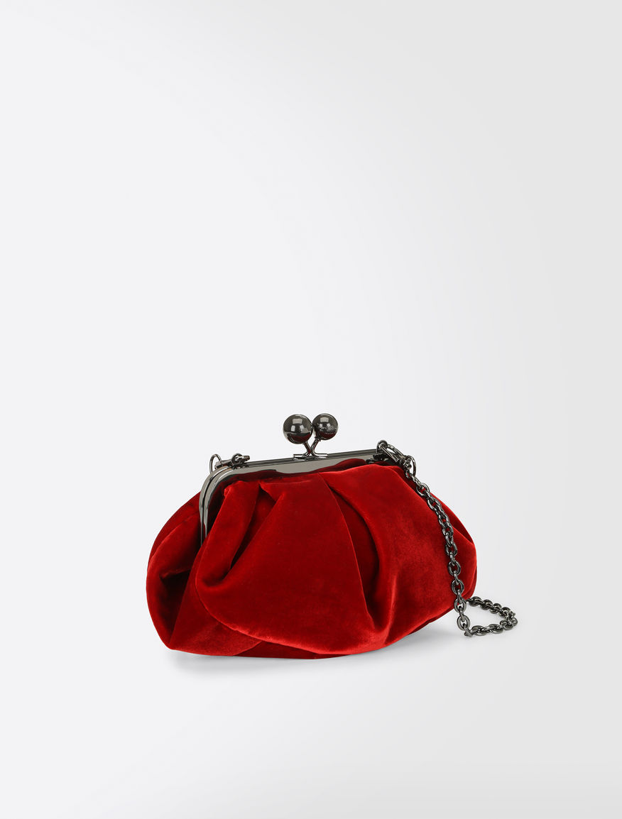 Mini Pasticcino bag in velvet Weekend Maxmara