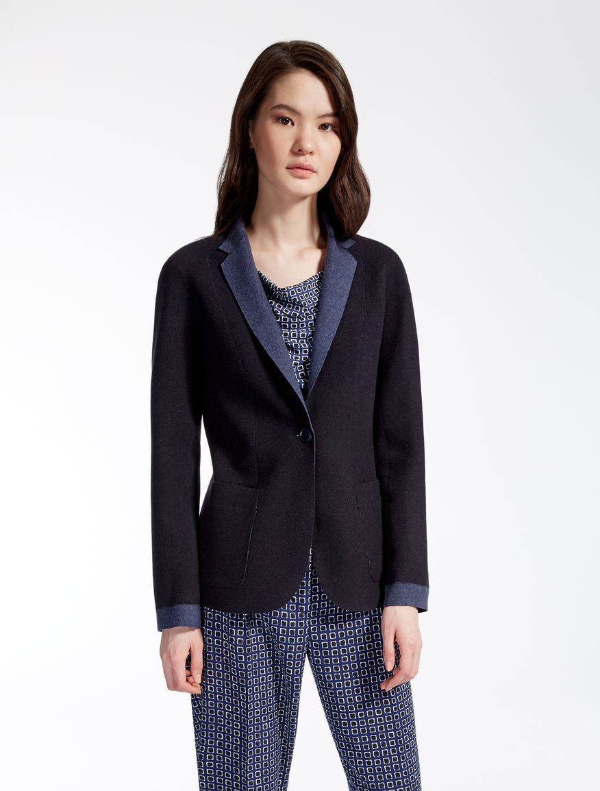 Wool jersey jacket Weekend Maxmara