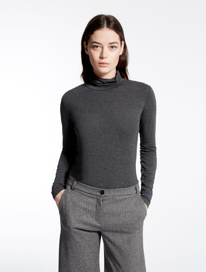 Stretch jersey polo sweater Weekend Maxmara