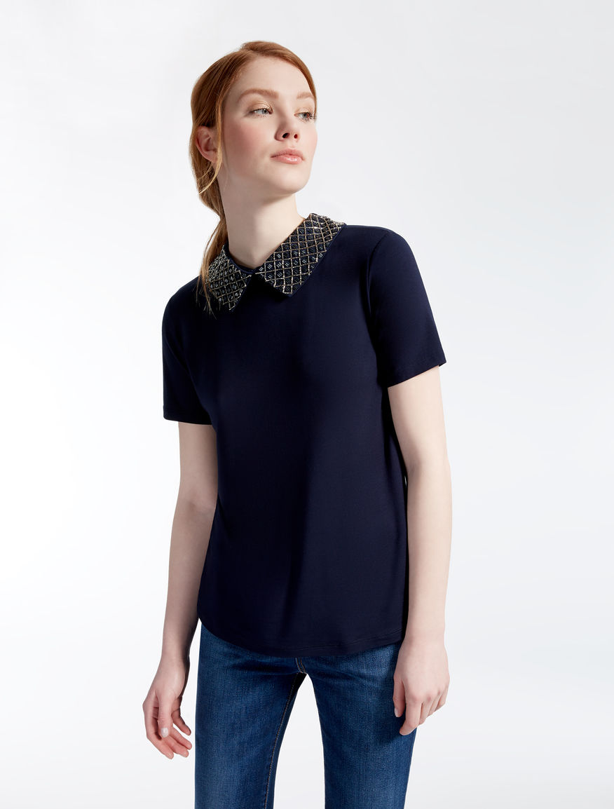 T-shirt in jersey di viscosa Weekend Maxmara