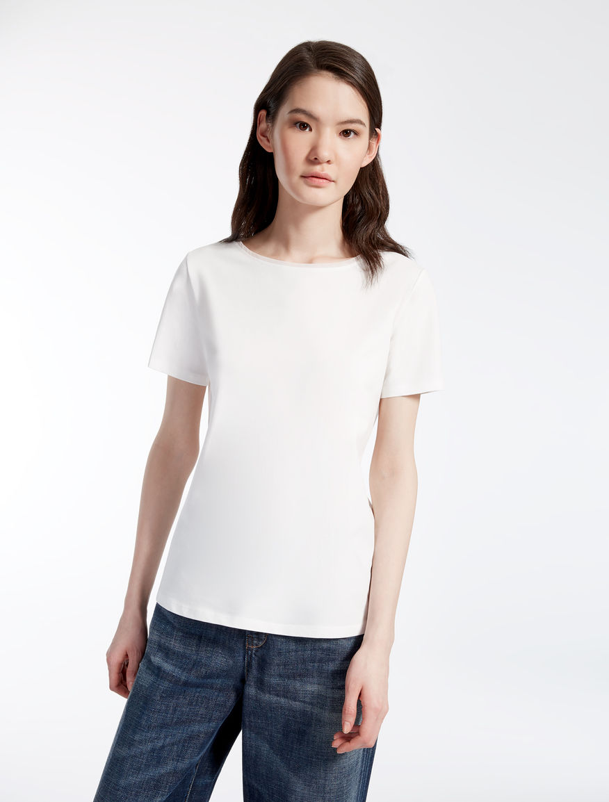 Cotton jersey T-shirt Weekend Maxmara