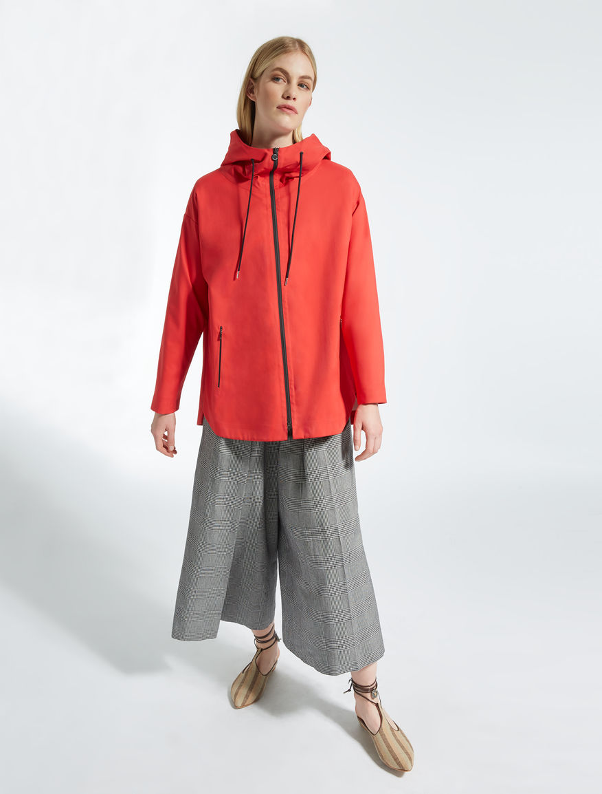 Nylon twill raincoat Weekend Maxmara