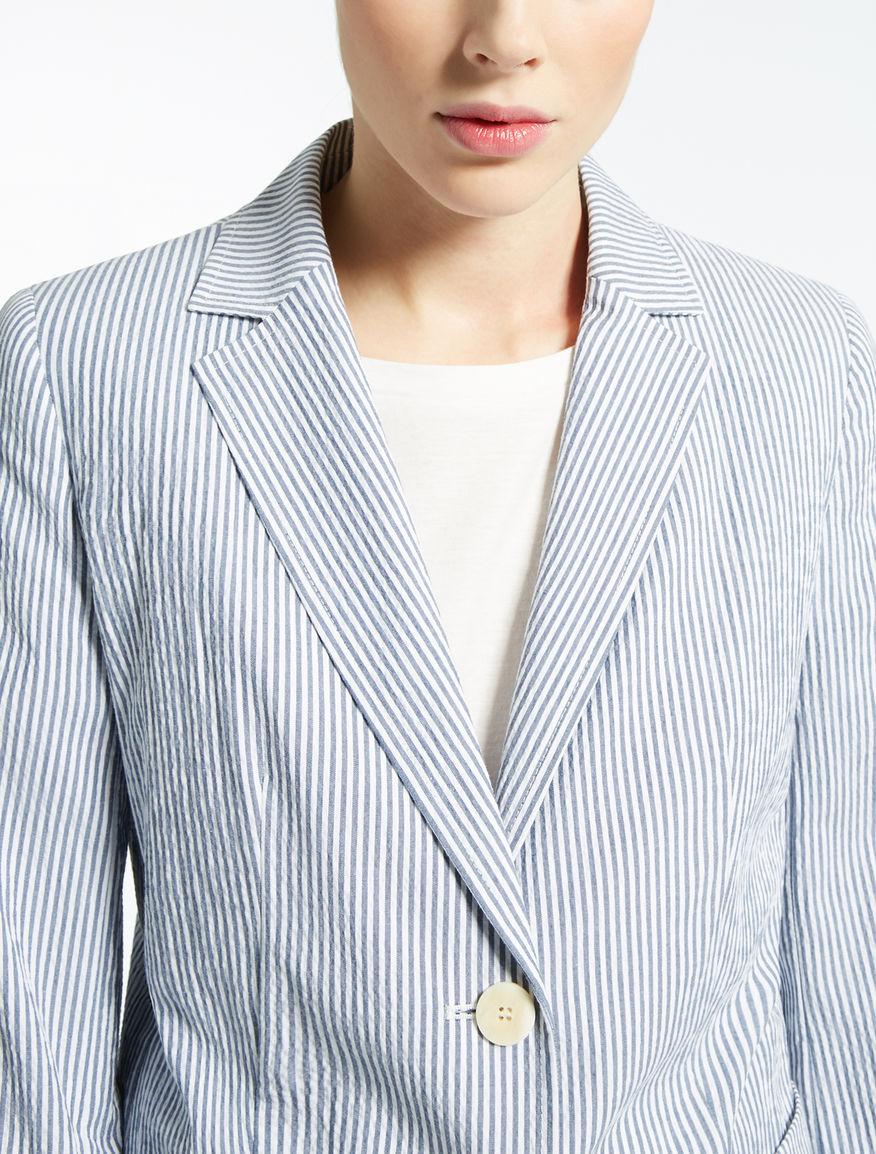Cotton seersucker blazer Weekend Maxmara
