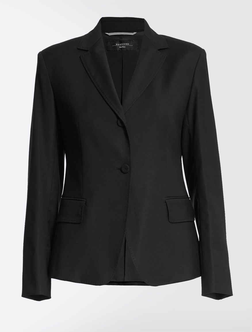 Wool and viscose blazer Weekend Maxmara