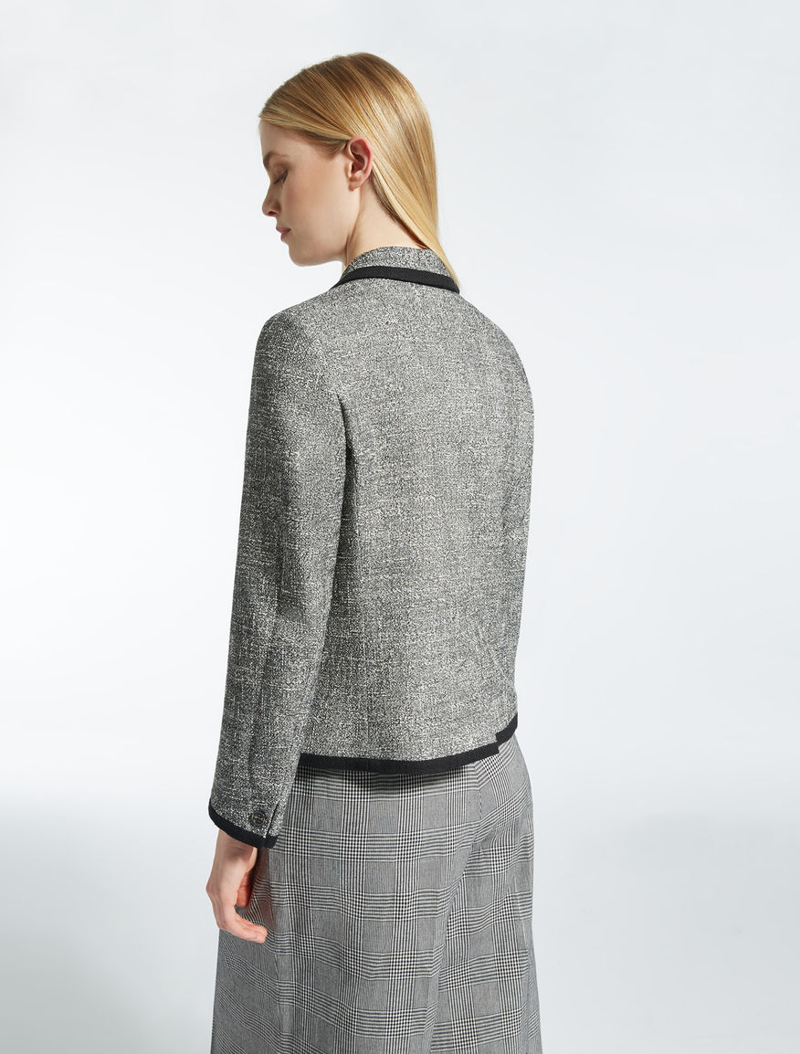 Blazer in cotton blend basketweave Weekend Maxmara