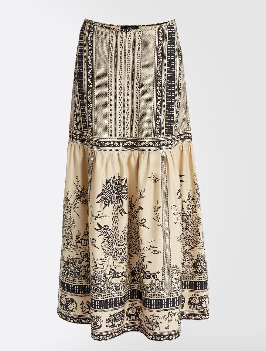 Cotton twill skirt Weekend Maxmara