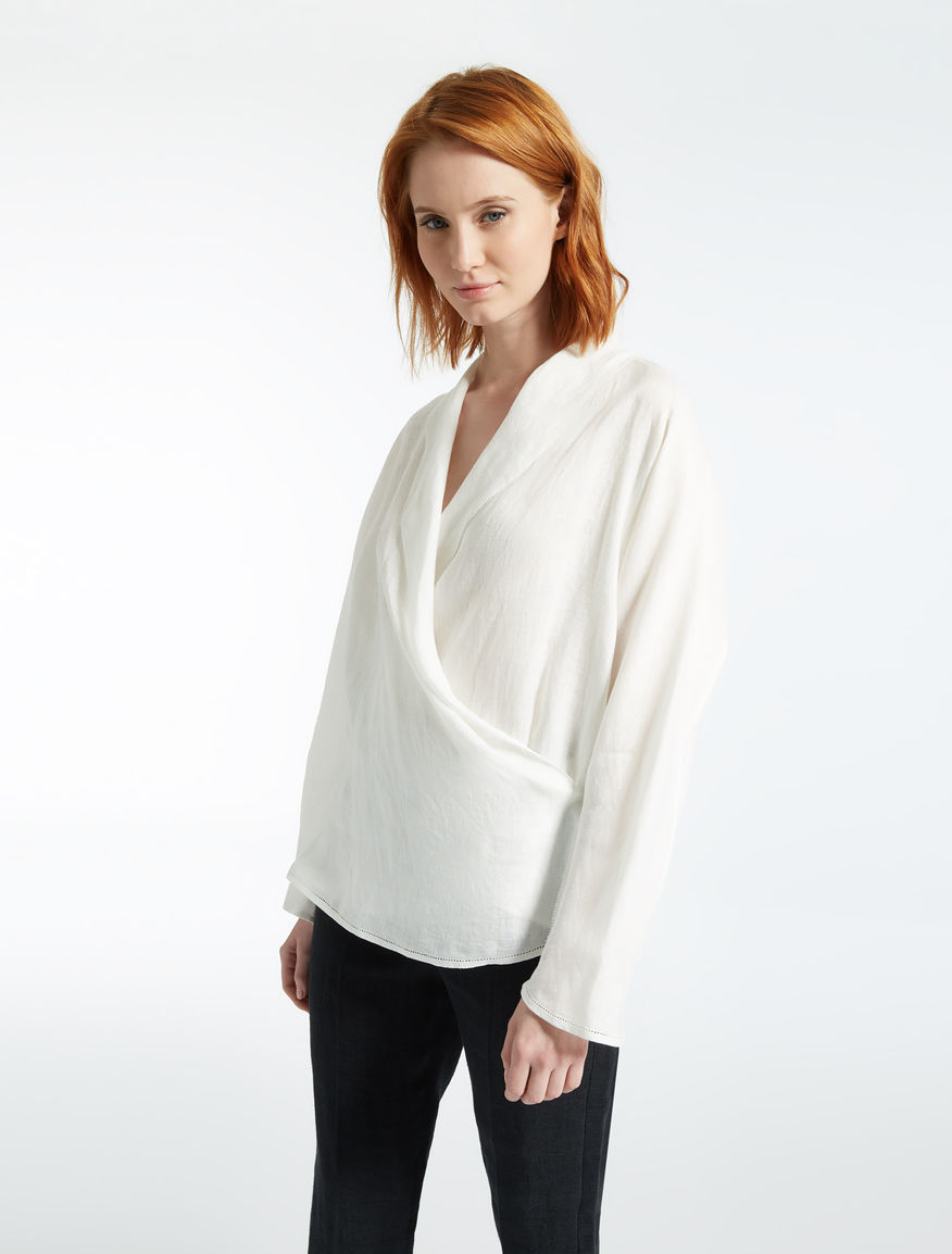 Linen blouse Weekend Maxmara